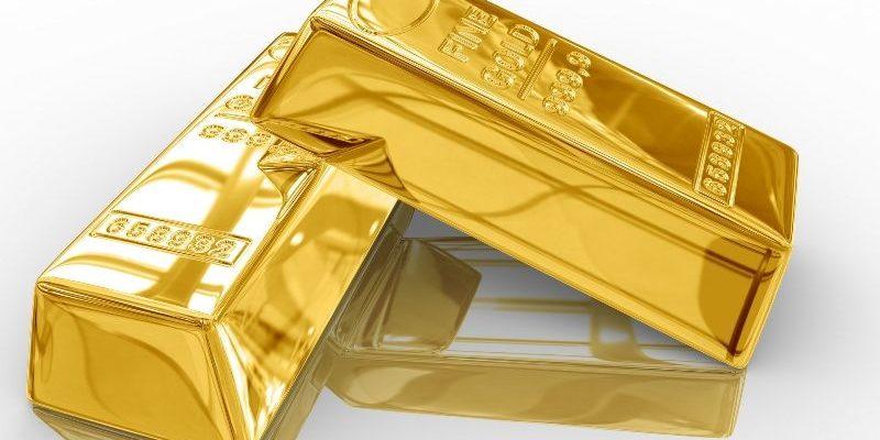 слитка золота весом 1 кг