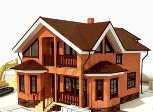 Сколько стоит построить дом из кирпича: цена на все этапы работ и типы домов